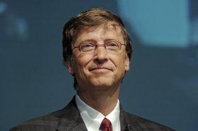 Bill Gates er godt fornøyd med det selskapet hans har oppnådd.