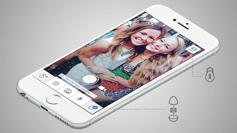 Denne appen lar deg sende meldinger inn i fremtiden