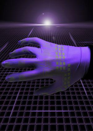 En illustrasjon fra Universitetet på hvordan de ser for seg at teknologien kan brukes.