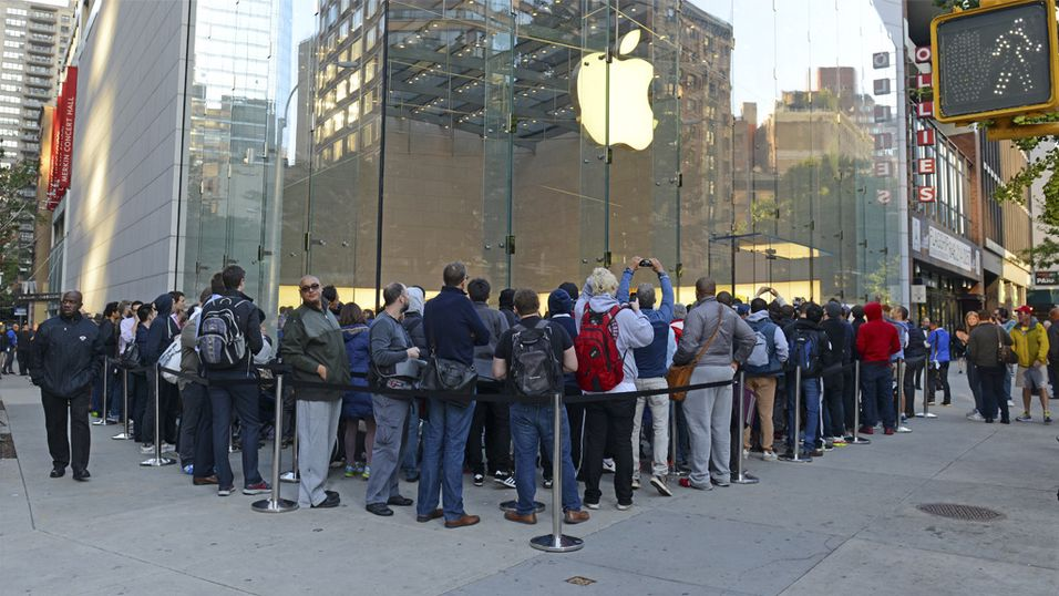 Apple: – Dagene med venting i kø er over