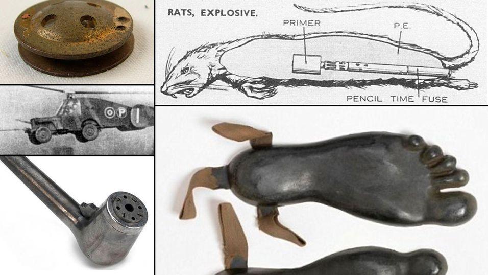 FEATURE: 10 sprø oppfinnelser fra 2. verdenskrig