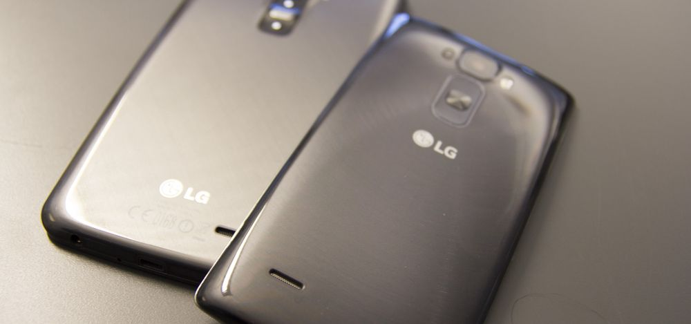 To generasjoner G Flex fra LG.