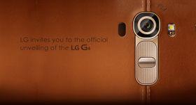 Teaserbilde fra den foreløpige produktsiden til LG G4.