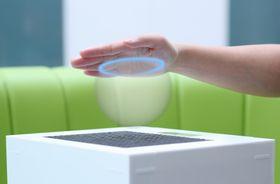 Teknologien lar deg kjenne på virtuelle, tredimensjonale objekter.