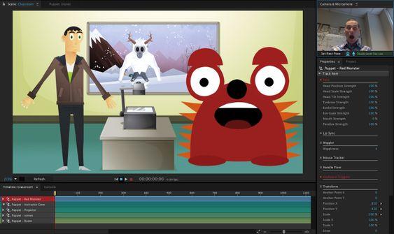 Adobe Character Animator.