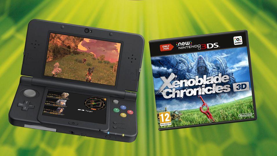 Sjekk om du vant New Nintendo 3DS med spill og deksel