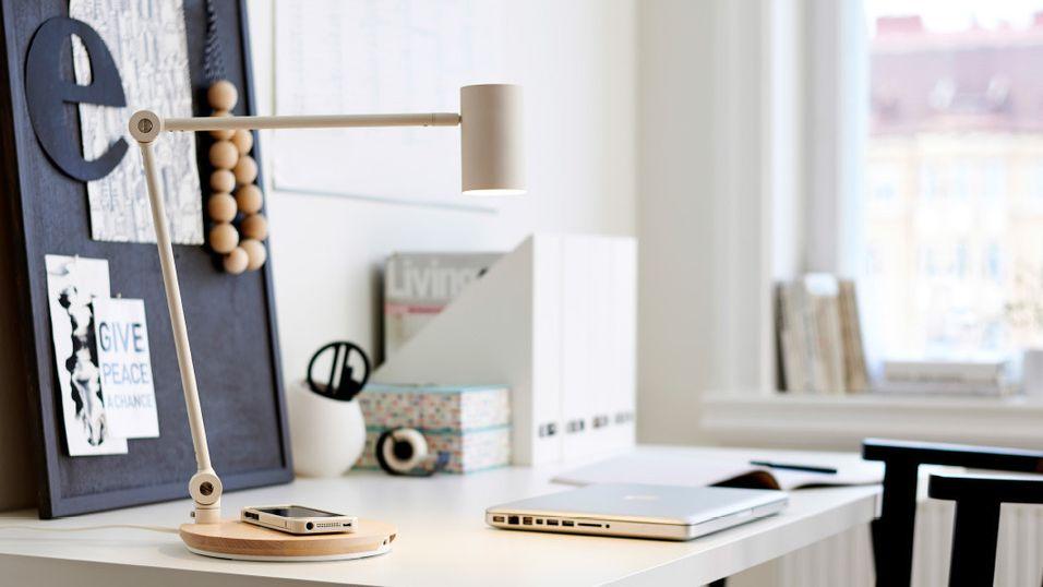 Nå kommer IKEAs lade-møbler til Norge