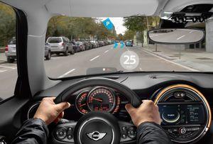 Augmentert virkelighet i bilen.