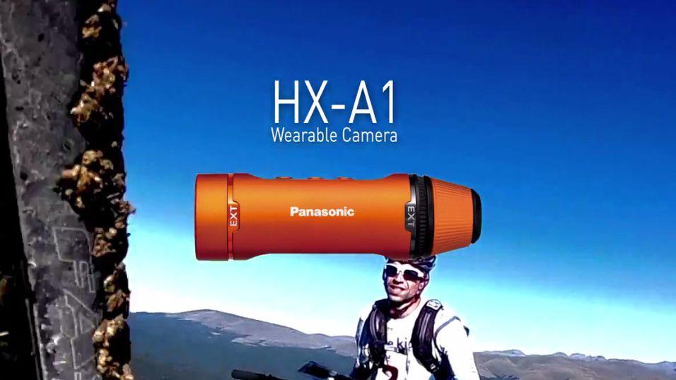 Panasonics nye actionkamera HX-A1