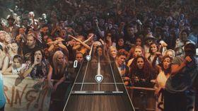 Publikum ser lite pris på slett gitarspeling.