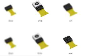 Noen av LinX' kameraer, hentet fra hjemmesiden.