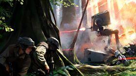 Konseptbilde fra Star Wars: Battlefront.