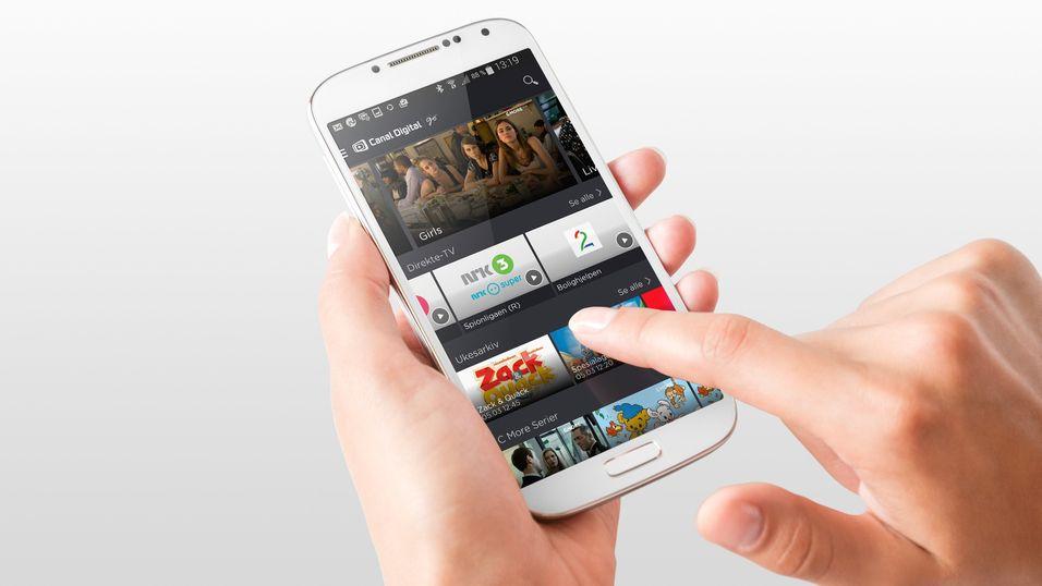 Nå har Canal digital Go kommet til Android