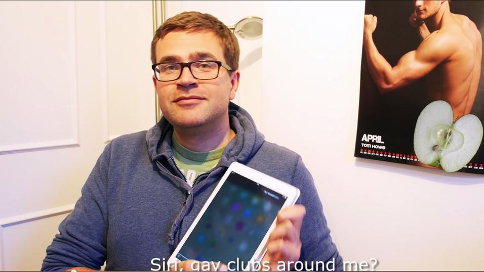 Her får Apple-brukeren «homofobe» svar fra taleassistenten Siri