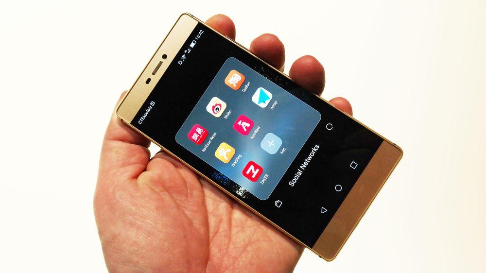 Huawei P8: Lekkert flaggskip med knokefunksjon og lysmaling
