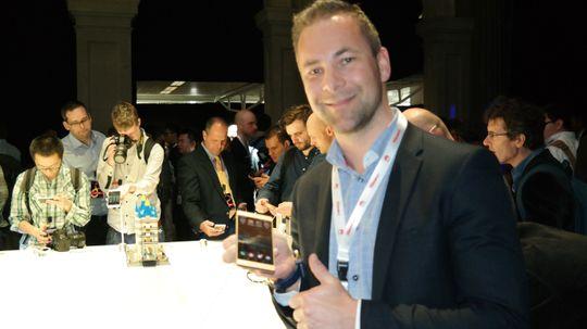 Tor Martin Storhaug er salgssjef i Huawei, Norge. Han har stor tro på P8.