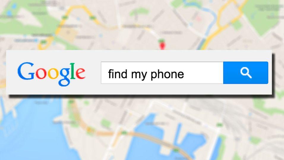 Lokasjonen er bare et Google-søk unna.