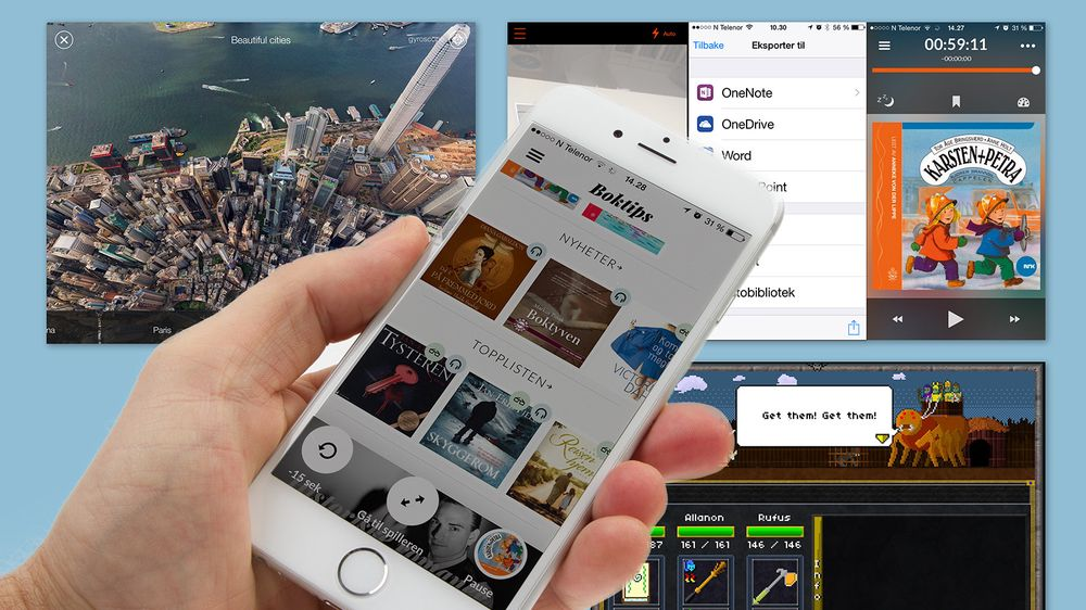 GUIDE: Apper til Android, iOS og Windows Phone