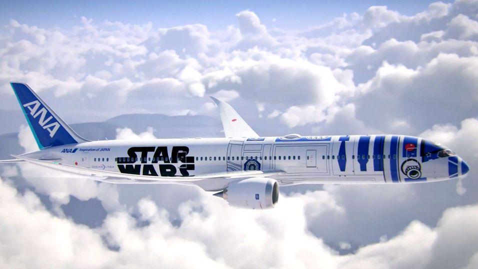Du kan fly med Star Wars-flyet til høsten