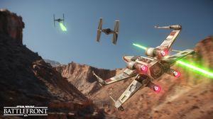TIE-Fighter og X-Wing er blant kjøretøyene man får leke med.