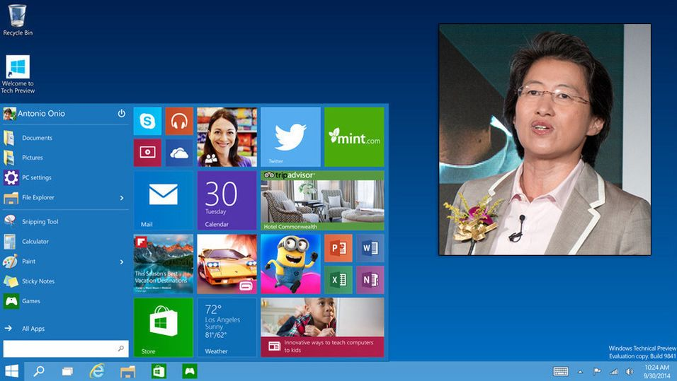 AMDs toppsjef, Lisa Su, forsnakket seg og avslørte Windows 10-lanseringen under en telefonkonferranse med investorer og – dessverre for henne – presse.