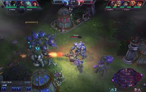 Heroes of the Storm innehar Blizzards kjente grafiske stil.