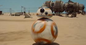 BB-8 dukket opp i den første Star Wars-traileren, og alle antok at den var dataanimert.