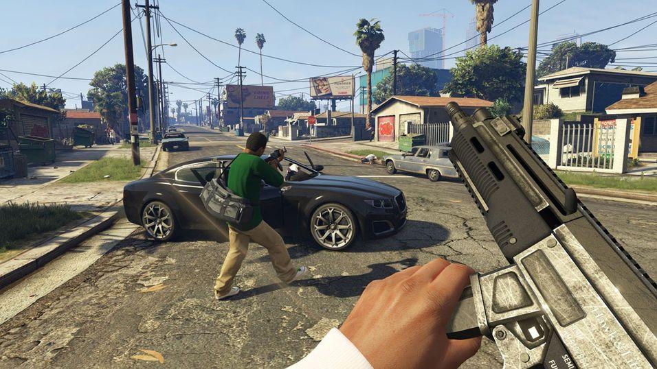 Grand Theft Auto 5 passer godt til Oculus Rift, ettersom spillet nylig fikk støtte for førstepersons synsvinkel