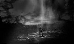 Konseptkunst av en såkalt «reality tear» fra Alan Wake 2.