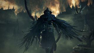 Den mørke og gotiske stemningen i Bloodborne gir spillet en annen stemning enn de øvrige Souls-spillene.