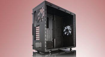 Økser optisk drevplass for bedre kjølemuligheter