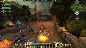 Smite er med sin tredjepersonsvinkel kanskje det mest unike av spillene.