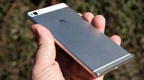 Huawei P9 får samme skjermstørrelse som P8, her avbildet, men byr på kraftigere innmat.