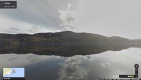 Loch Ness i Street View.
