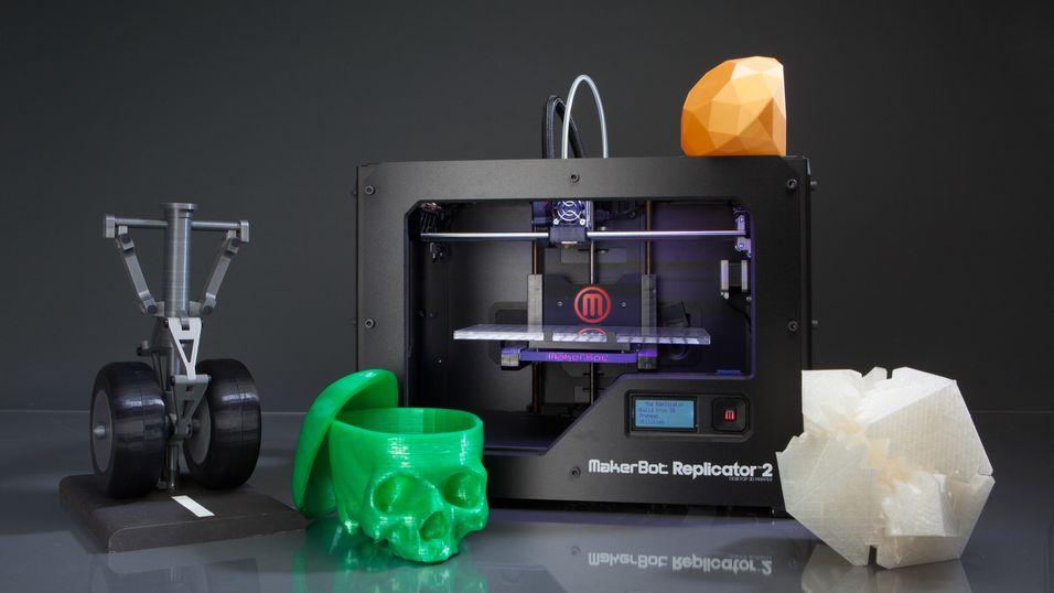 Store kutt i Makerbot