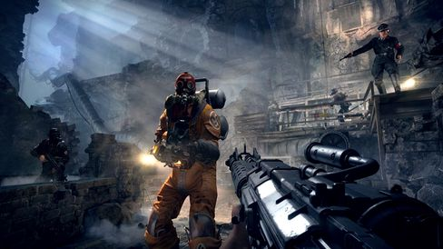Det blir solide mengder action i Wolfenstein: The Old Blood.