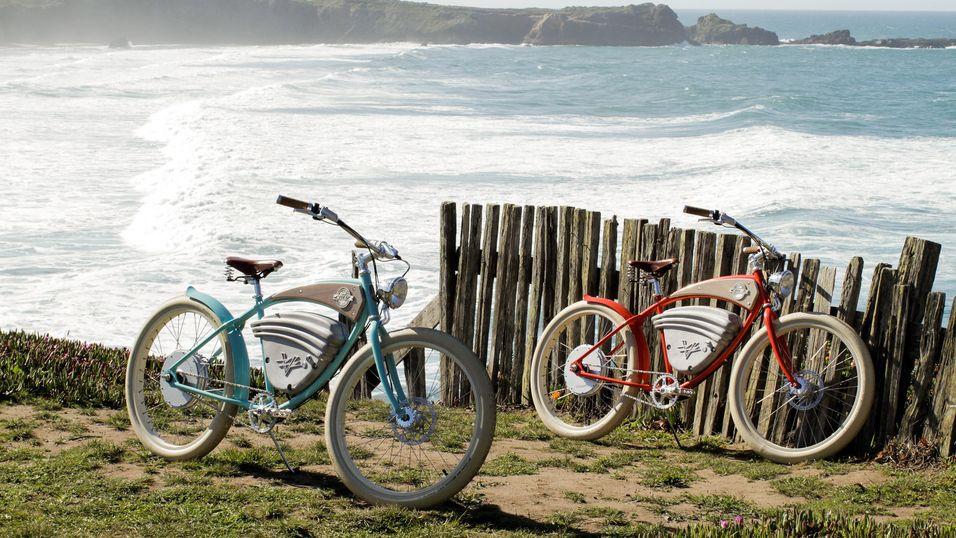Denne elektriske sykkelen i retrostil kan nå bli din
