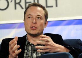 Elon Musk, sjef og grunnlegger av Tesla.