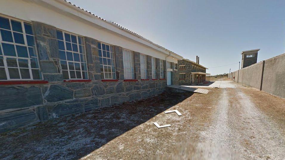 Utforsk Nelson Mandelas fengsel