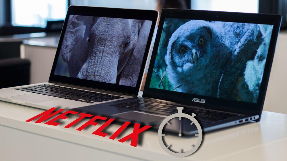 Bare denne løsningen ga oss «Super HD»  og  rå batteritid