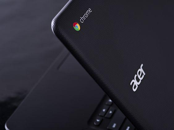 CHROME: Acer satser fremdeles på Chromebook i det amerikanske markedet.