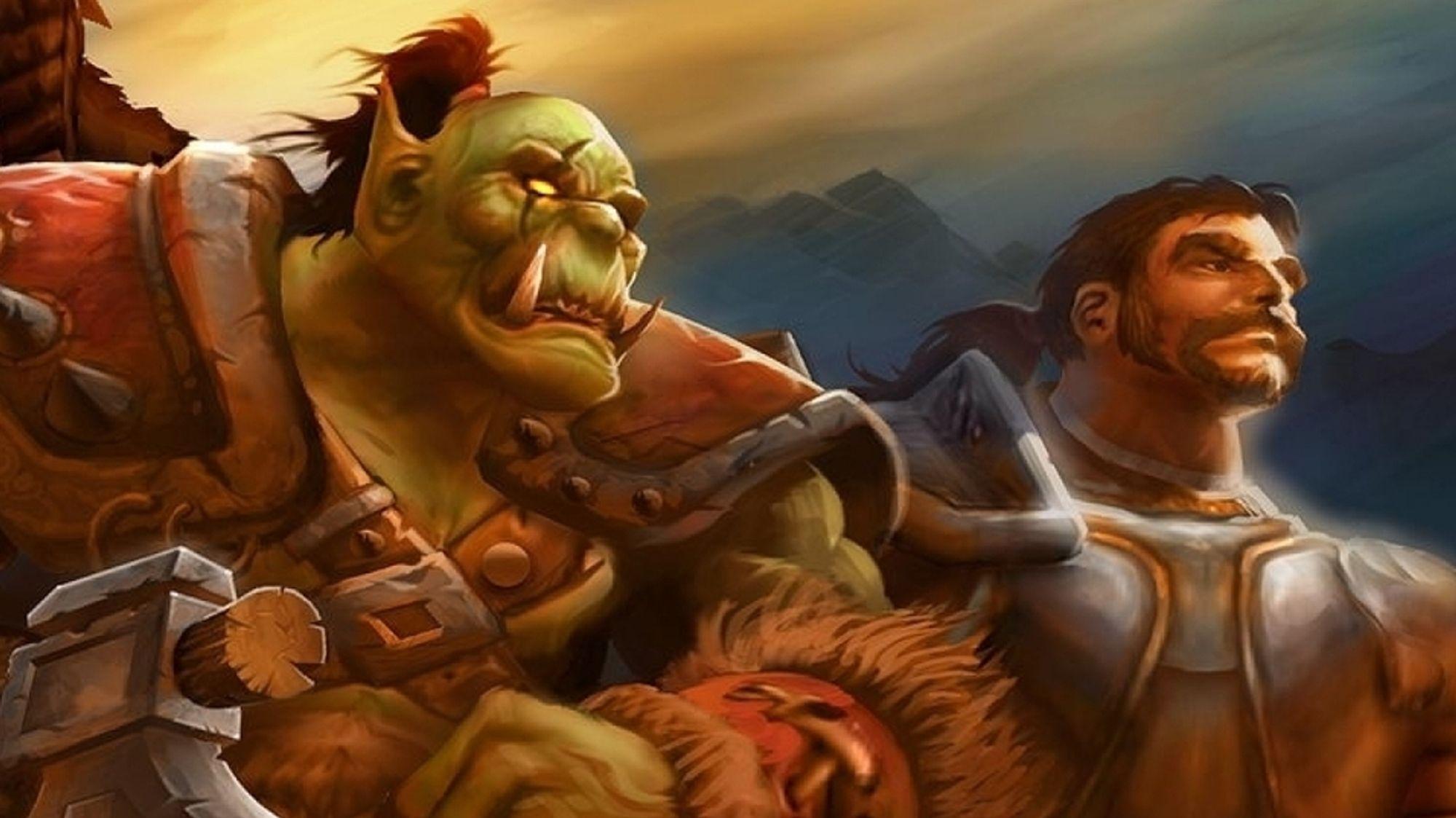 Konseptkunst fra World of Warcraft.
