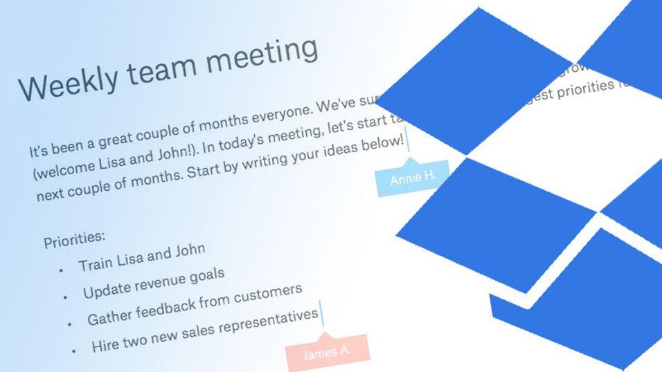Nå vil Dropbox konkurrere med Google Docs