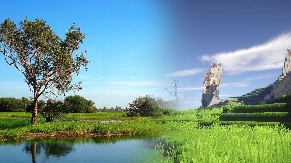 Australske nasjonalparker skal formes i Minecraft.