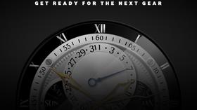 Teaserbildet fra utviklersiden til Samsung, som indikerer en rund smartklokke.