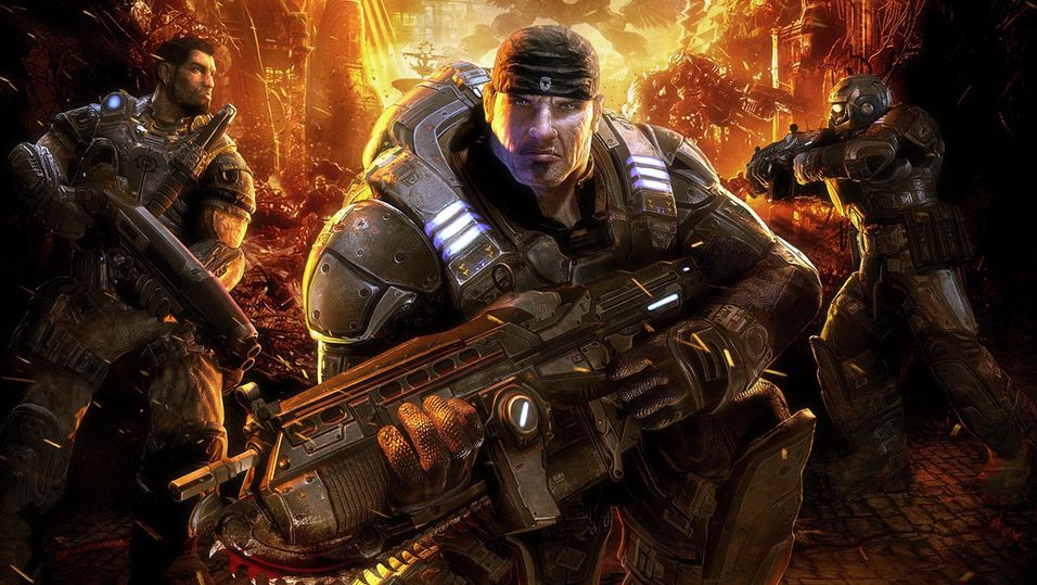 Gears of War blir pussa opp for Xbox One