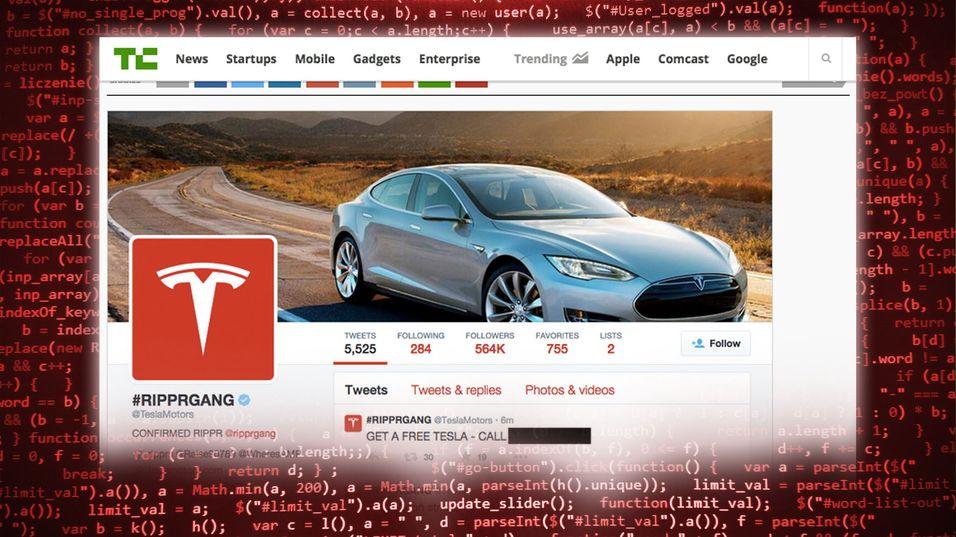 Hackere overtok Teslas og Elon Musks Twitter-kontoer