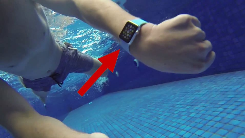 Tåler Apple Watch vann?