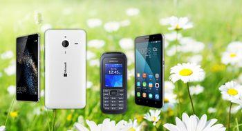 Her er maimobilene Butikkene bugner av mobilnyheter i mai
