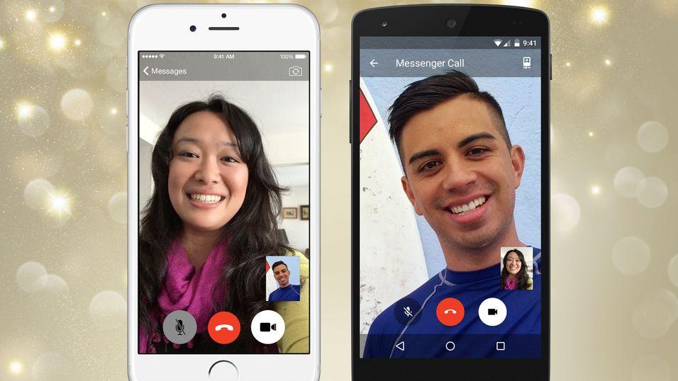 Nå har Facebook Messenger fått støtte for videosamtaler